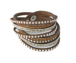 leather cuff wrap bracelet images Brown faux leather wrap bracelet wristband cuff bracelets jpg