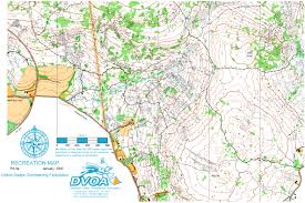Declination Map French Creek East August 13th 2006 Orienteering Map From