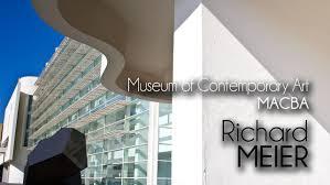 richard meier macba museum of contemporary art youtube
