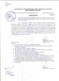 seniority list of university employee cskhpkv palampur