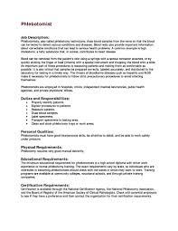 skills for phlebotomy resume free resume example and writing