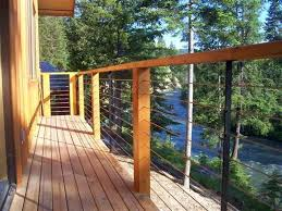 understanding deck cable railing systems installation u2014 railing