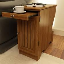 side table with cup holders wayfair
