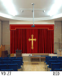 Church Curtains Church Altar Curtains Stage Backdrop