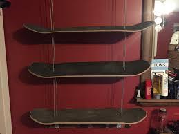 Skateboard Shelf Custom Skateboard Shelf Album On Imgur
