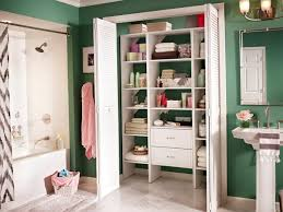 likable bathroom closet shelf organizers roselawnlutheran diy small closet shelves