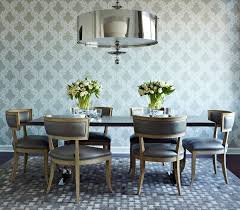 Dining Table With Grey Chairs Dining Room Classy Dining Room Decor Dark Grey Wall Laminated