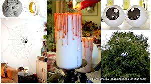 home halloween decor 42 super smart last minute diy halloween decorations to realize