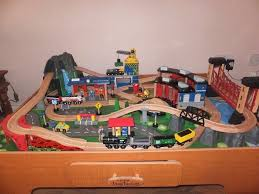 mountain rock train table universe of imagination mountain rock train table with extra pieces