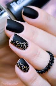 Nail Art Design Black Best 20 Leopard Nails Ideas On Pinterest Leopard Nail Designs