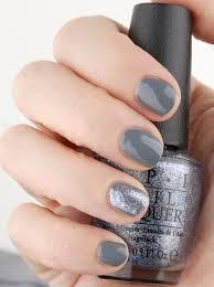 opi 50 shades of grey nail polish embrace the gray dark side of
