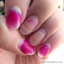how to try to remove nail polish stains from acrylic nails