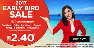 airasia singapore promo air asia offers early bird promo fares fr 38 all in for travel from
