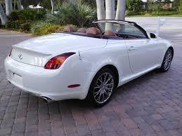 2002 lexus sc430 touch up paint purchase used 2002 lexus sc430 sc 430 convertible white saddle 1