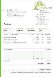 Per Direct Geld Op Rekening Factuur Voorbeeld Download Gratis Factuur In Word