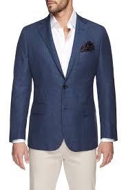 adron navy jacket menswear