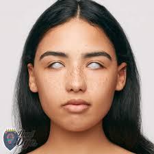 mesmereyez fancy dress halloween contact lense blind white