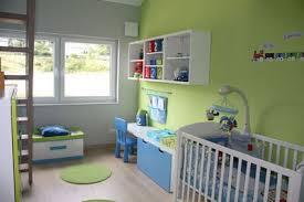 deco chambre bebe vert et gris visuel 9