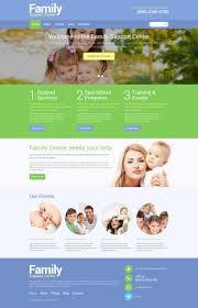 website template 49341 family support center custom website