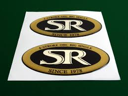 yamaha emblem yamaha sr 400 500 sr500 stickers badges