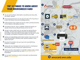 Wvu Parking Map Mountaineer Card Services It Services Information Technology