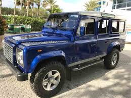 land rover defender convertible classic land rover defender for sale on classiccars com