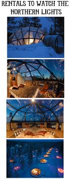 northern lights vacation spots vacation rentals for viewing the northern lights in kakslauttanen