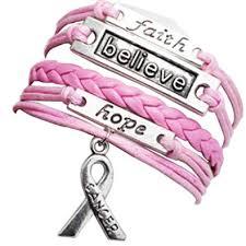 love braided bracelet images Heart of charms pink love braided faith believe hope jpg