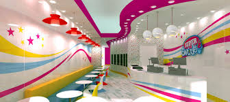 shop decoration cuisine interior design of yogurt shops mercial interior design