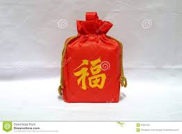 bag new year gift in bag for new year stock image image of object