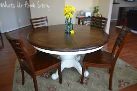 Chalk Paint Table And Chairs Chalk Paint Table Makeover