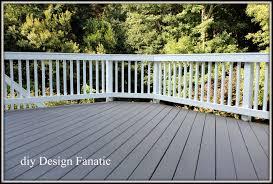 diy design fanatic refinishing our deck
