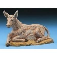 outdoor nativity animals statues
