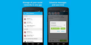 hootsuite for android hootsuite for android updated with material design and other