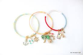Paris Themed Charm Bracelet Diy Colorful Charm Bracelets Beprismatic