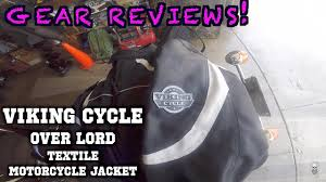motorcycle over jacket gear reviews viking cycle men u0027s overlord textile motorcycle
