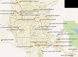 Map Of Redmond Oregon by Dan U0027s Skate Pages