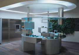 semicircular kitchen in high tech style u2013 beautiful design interior