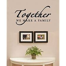 Amazoncom Family Is Everything Decals Wall Decal Quotes Home - Family room quotes