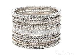 wedding bangle bracelet images White diamond brides bridal wedding bangles latest new collection jpg