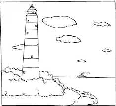 printable coloring pages of lighthouses coloring home