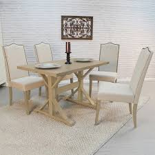 shop carolina cottage florence weathered gray dining table at
