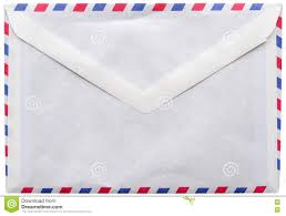 vintage envelope airmail letter stock photo image 81376264