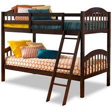 Storkcraft Long Horn Twin Over Twin Solid Hardwood Bunk Bed - Walmart bunk bed