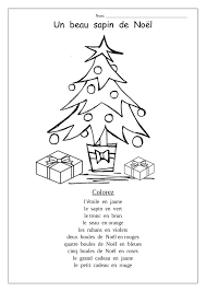 Christmas Tree Math Worksheets Coloring Pages In French