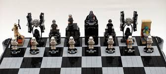 star wars chess sets awesomely geeky lego star wars chess sets