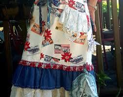 Shabby Chic Skirts by Shabby Chic Denim Etsy