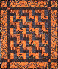 endless creaking stairs table runner and quilt kits aqs onpoint