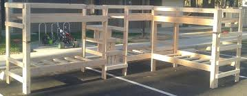 Wood Bunk Bed Plans 52 Awesome Bunk Bed Plans Mymydiy Inspiring Diy Projects