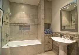 bathroom bathroom shower ideas with two ceiling lamps and three bathroom shower ideas mixed with cream wall tile also large framed mirror above white bathroom